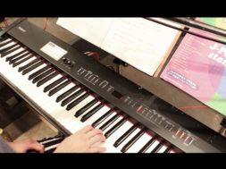 ピアノ初歩の初歩Part2 鍵盤練習(指使い)