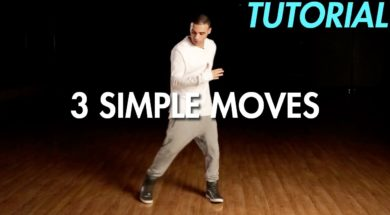 3 Simple Dance Moves for Begginers. 初心者向けの簡単な3つの動き。