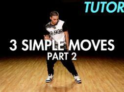 3 Simple Dance Moves for Beginners – Part 2 初心者向けヒップホップの3つの基本動作