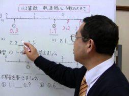 【小3算数】数直線と小数の大きさ