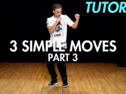 【Part 3】3 Simple Dance Moves for Beginners初心者向けヒップホップの3つの基本動作