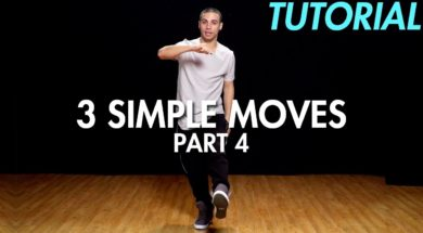 【Part 4】3 Simple Dance Moves for Beginners初心者向けヒップホップの3つの基本動作