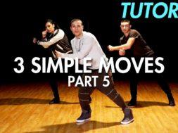 【Part 5】3 Simple Dance Moves for Beginners初心者向けヒップホップの3つの基本動作