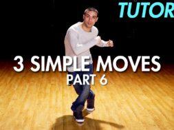 【Part 6】3 Simple Dance Moves for Beginners初心者向けヒップホップの3つの基本動作