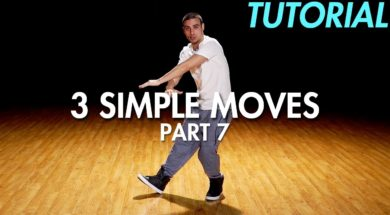 【Part 7】3 Simple Dance Moves for Beginners初心者向けヒップホップの3つの基本動作