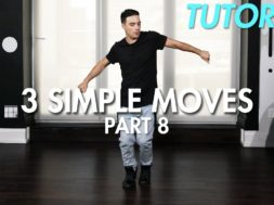 【Part 8】3 Simple Dance Moves for Beginners初心者向けヒップホップの3つの基本動作