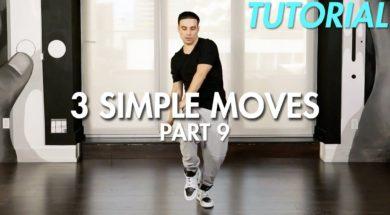 【Part 9】3 Simple Dance Moves for Beginners初心者向けヒップホップの3つの基本動作