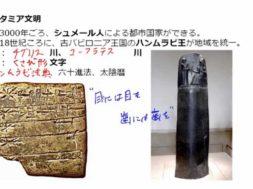 【歴史01-03】四大文明を学ぶーメソポタミア、インダス文明