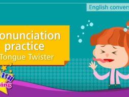 12. Pronunciation practice