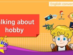 2. Talking about hobby