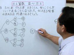 【小6算数】並べ方2