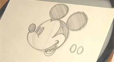 コツを知れば劇的に上手に描ける「ミッキーマウス!」鉛筆1本で描こう!