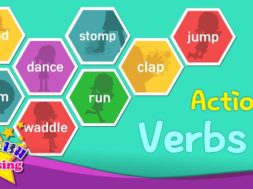 Action Verbs 2 <Kids vocabulary>