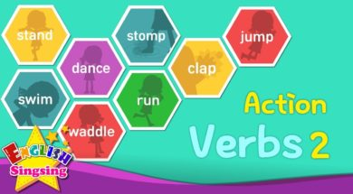 Action Verbs 2 <Kids vocabulary>
