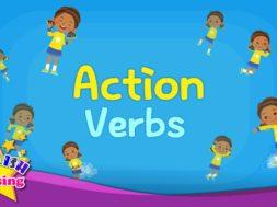 <Kids vocabulary> Action Verbs  -動作を表す動詞