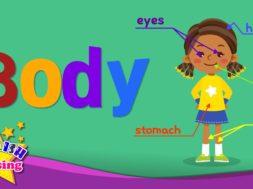 <Kids vocabulary> Body, Parts of Body