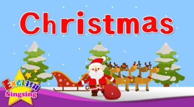 Christmas – Christmas vocab <Kids vocabulary>