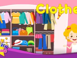 <Kids vocabulary> Clothes 衣服