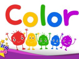Color – color mixing – rainbow colors <Kids vocabulary>