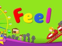 <Kids vocabulary> Feel, feelings and emotions  -気持ちや感情