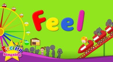 Feel (Feelings or Emotions) <Kids vocabulary>
