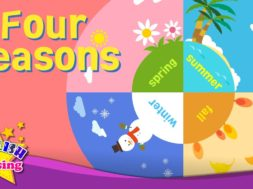 Four Seasons – 4 seasons in a year <Kids vocabulary>