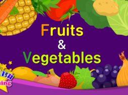 Fruits & Vegetables 2 <Kids vocabulary>