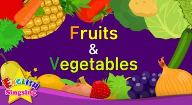Fruits & Vegetables 2 <Kids vocabulary>