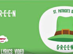 G-R-E-E-N St Patrick's Day