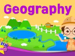 Geography <Kids vocabulary>