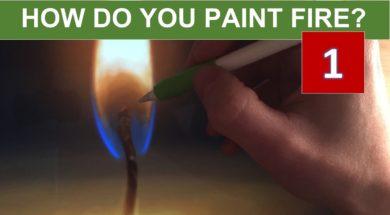 iPadとApple Pencilで描くろうそくの炎