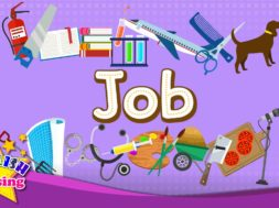 Job – Let's learn jobs <Kids vocabulary>