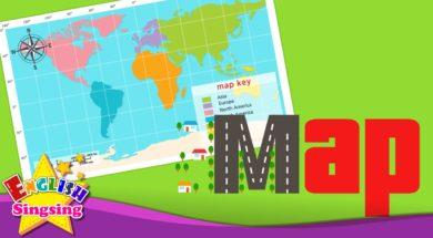 Map <Kids vocabulary>