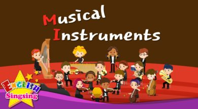 Musical Instruments <Kids vocabulary>