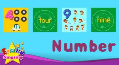 Number 123 <Kids Vocabulary>