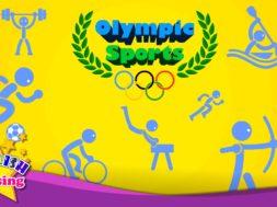 Olympic Sports <Kids vocabulary>