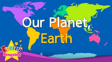 Our Planet, Earth <Kids vocabulary>