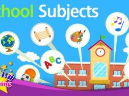 School Subjects <Kids vocabulary>