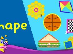 Shape <Kids vocabulary>