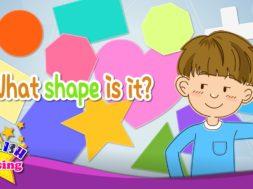 Shape Song 形を英語で歌おう!