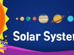 Solar System – planets <Kids vocabulary>