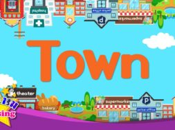Town <Kids vocabulary>