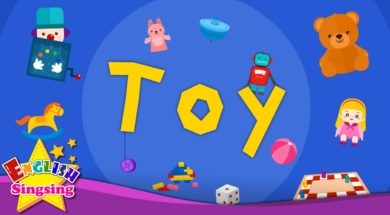 Toy – toy vocab <Kids vocabulary>