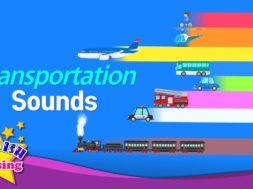 Transportation Sounds <Kids vocabulary>