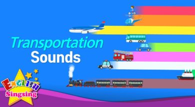 Transportation Sounds <Kids vocabulary>
