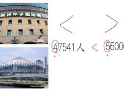【小学校3年算数 04-2】大きな数(千万まで):大小をくらべる
