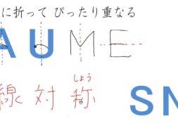 【小学校6年算数 1-1】線対称