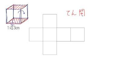 【小学校4年算数 14-5】立方体の展開図
