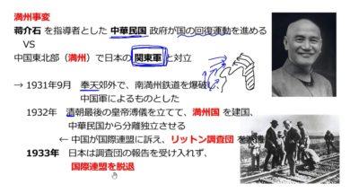 【中学校歴史コース 17-3】満州事変と軍部の台頭