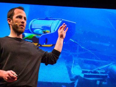 水中探査ロボを作ったベンチャーがどのようにして立ち上がったか。デイビット・ラング